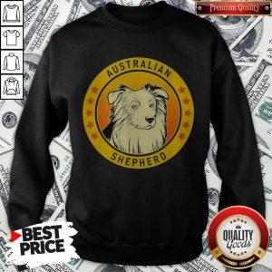 Top Australian Shepherd Dog Sweatshirt