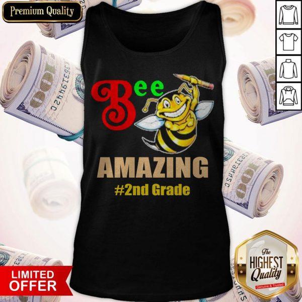 Top Bee Amazing #2nd Grade Tank Top