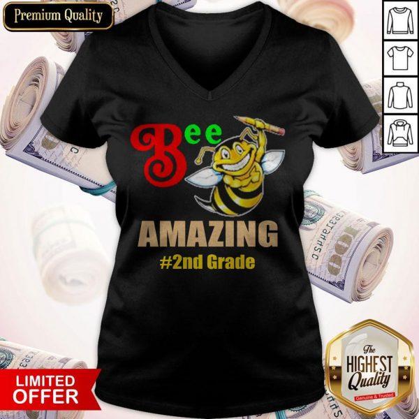 Top Bee Amazing #2nd Grade V- neck