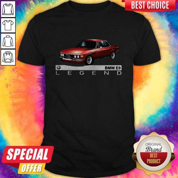 Top Bmw E9 Legend Car Shirt