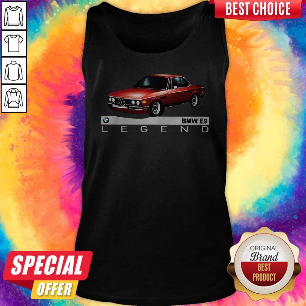 Top Bmw E9 Legend Car Tank Top