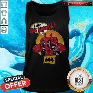 Top Deadpool I Am The Night Tank Top