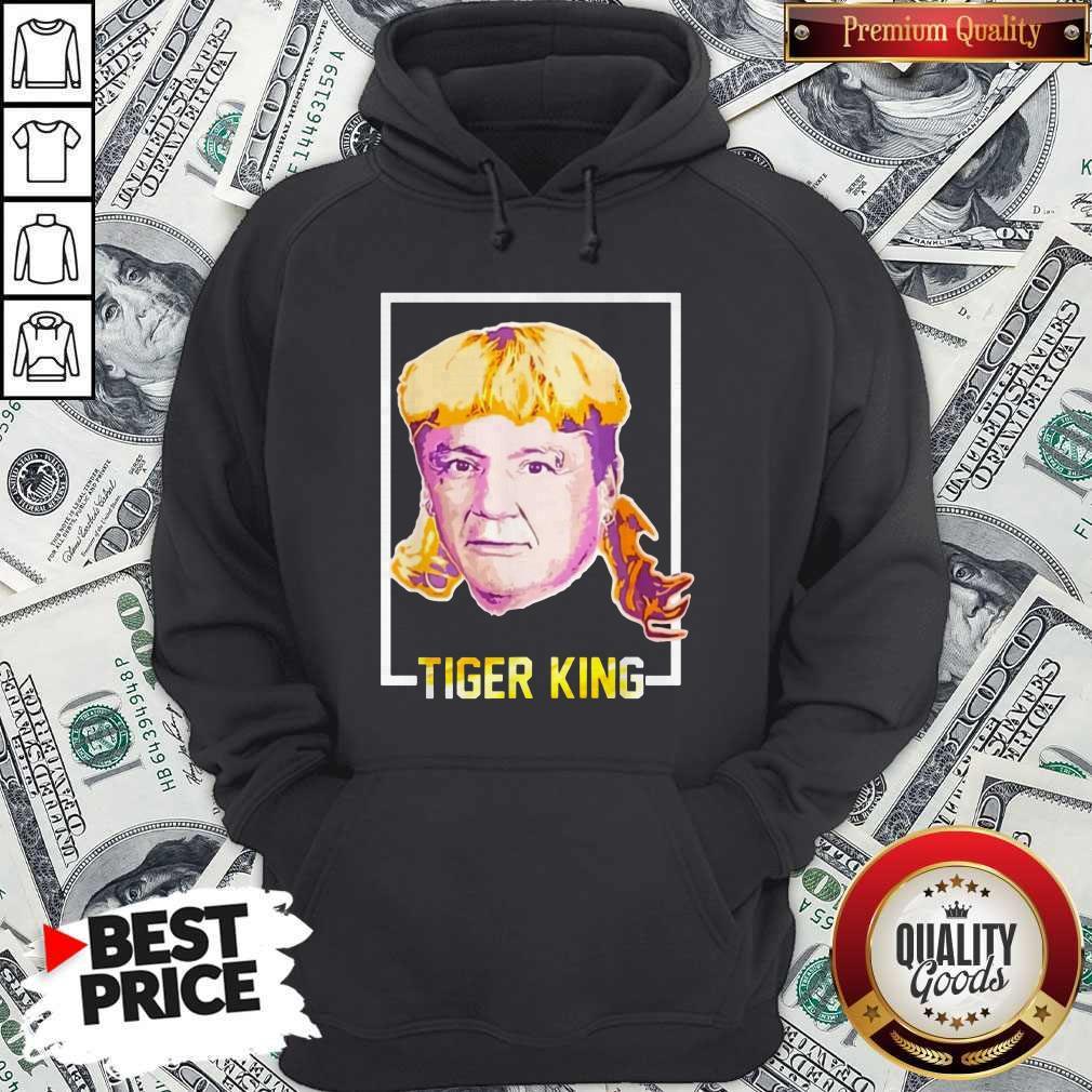 Top Ed Orgeron Tiger King Hoodiea