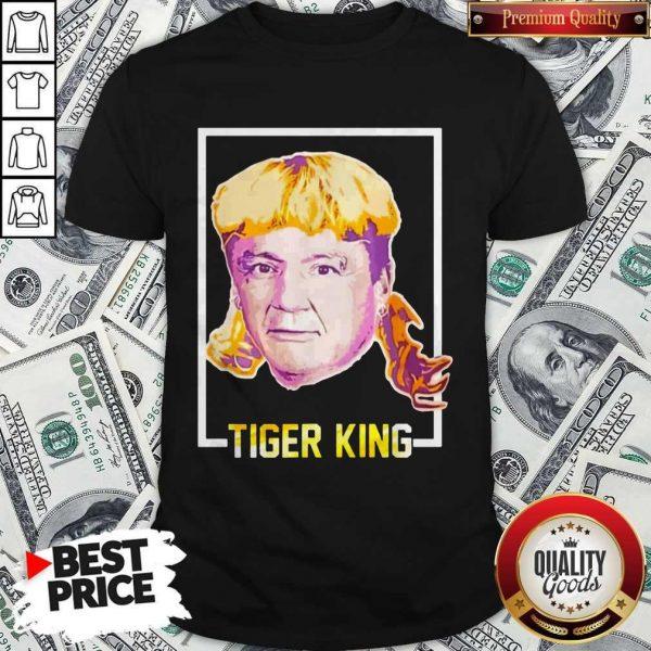 Top Ed Orgeron Tiger King Shirt