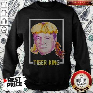 Top Ed Orgeron Tiger King Sweatshirt