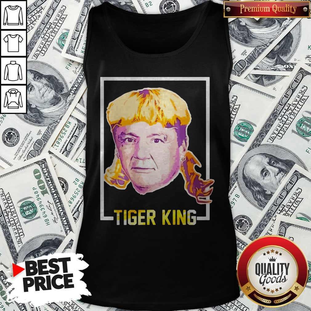 Top Ed Orgeron Tiger King Tank Top