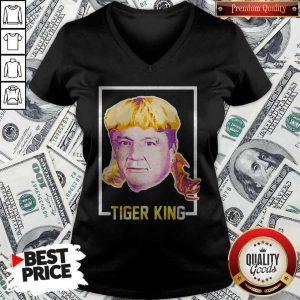 Top Ed Orgeron Tiger King V- neck