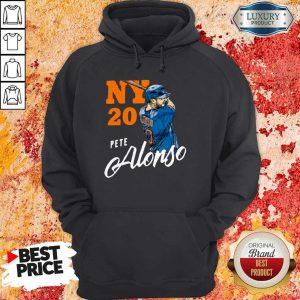 Top New York 20 Pete Alonso Hoodiea
