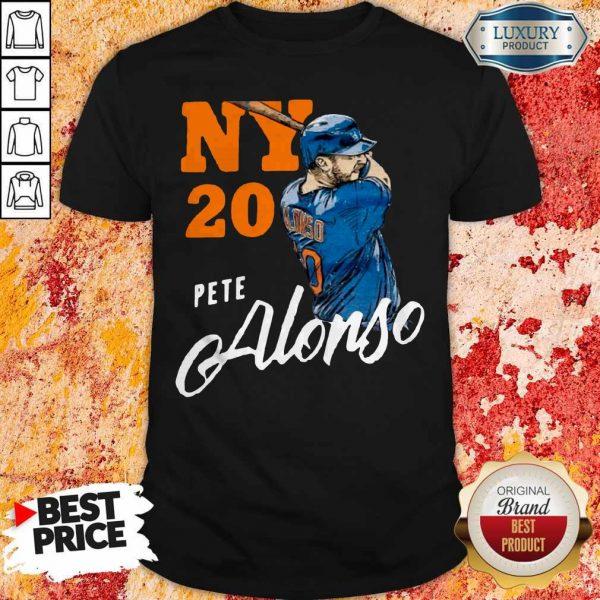 Top New York 20 Pete Alonso Shirt