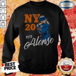 Top New York 20 Pete Alonso Sweatshirt