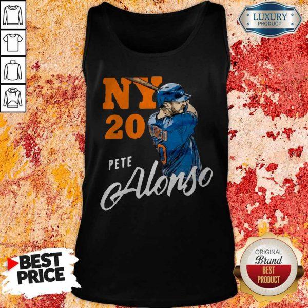 Top New York 20 Pete Alonso Tank Top