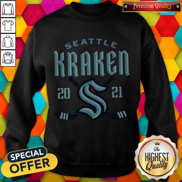 Top NHL Seattle kraken 2021 Sweatshirt