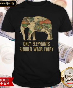 Top Only Elephants Should Wear Ivory Shirt
