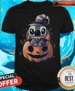 Top Stitch Pumpkin Halloween Shirt