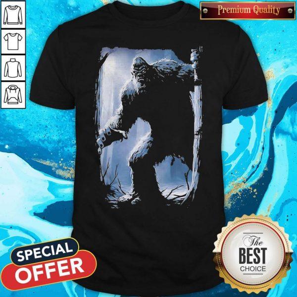 Top The Mountain Bigfoot Shirt