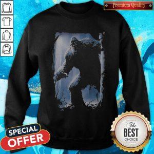 Top The Mountain Bigfoot Sweatshirt