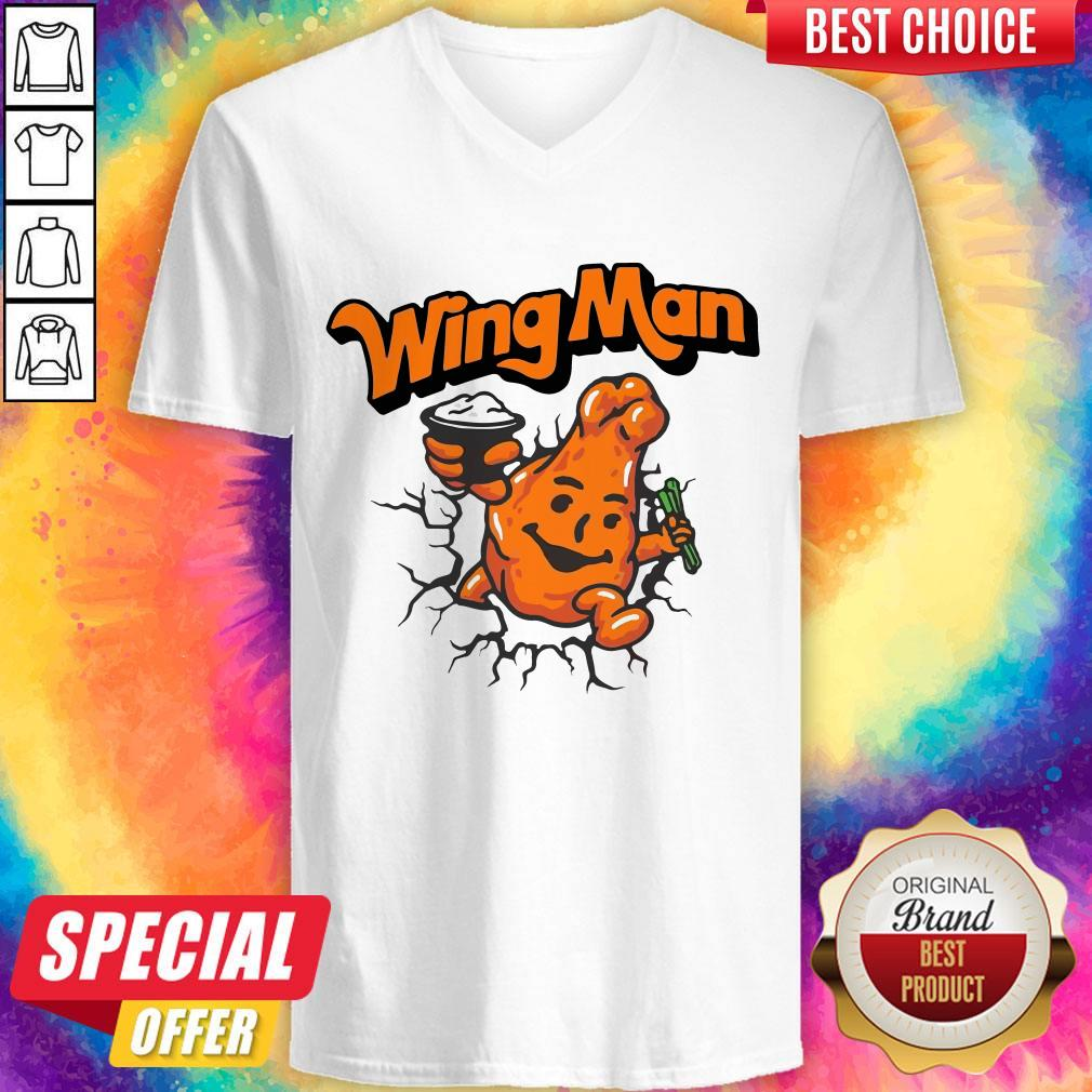 Top Wingman V- neck