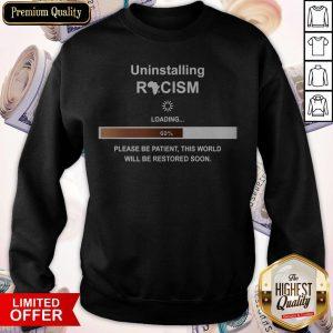 Uninstalling Racism Loading 60% Sweatshirt