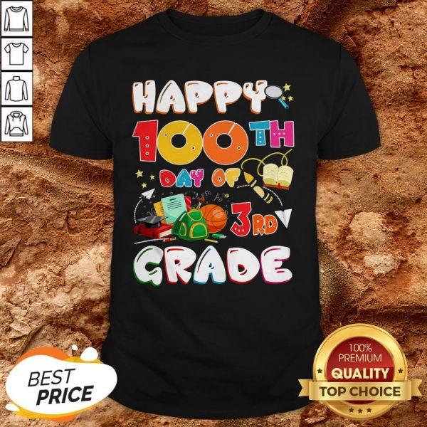 100 Days Of School Teacher Student Cute Grade Elementary Shirt100 Days Of School Teacher Student Cute Grade Elementary Shirt