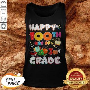 100 Days Of School Teacher Student Cute Grade Elementary Tank Top