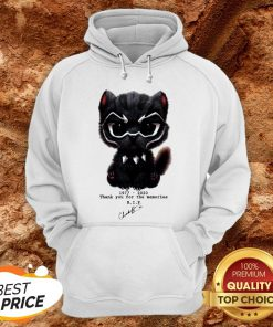 Actor Chadwick Boseman The Black Panther Marvel Hoodie