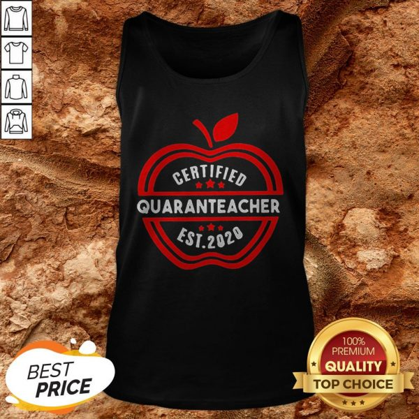 Apple Certified Quaranteacher 2020 Tank Top
