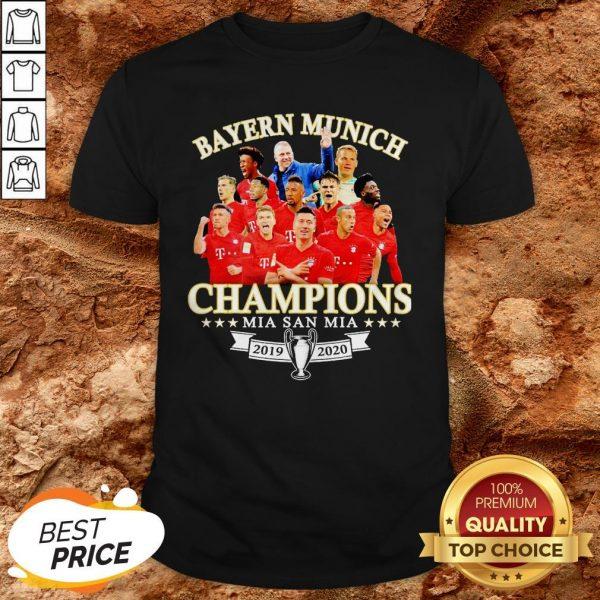 Bayern Munich Champions Mia San Mia 2019 2010 Shirt