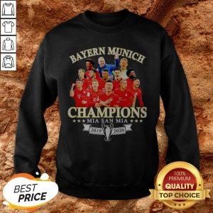 Bayern Munich Champions Mia San Mia 2019 2010 Sweatshirt