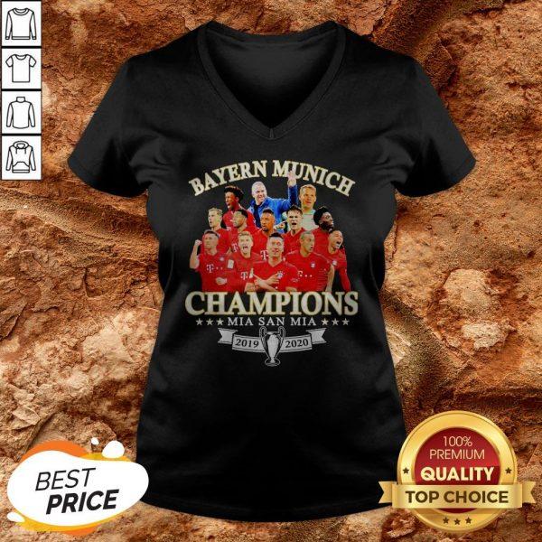 Bayern Munich Champions Mia San Mia 2019 2010 V-neck