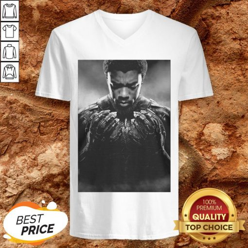 Black Panther Thank You For The Memories Signature V-neck
