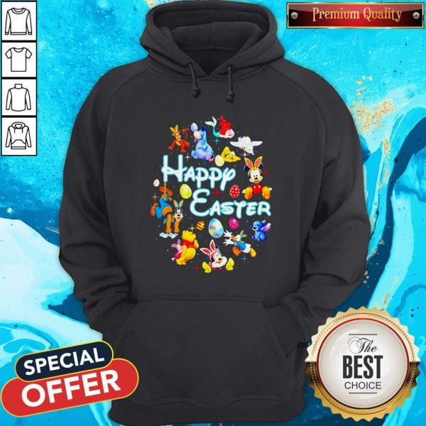Disney Characters Happy Easter Hoodie