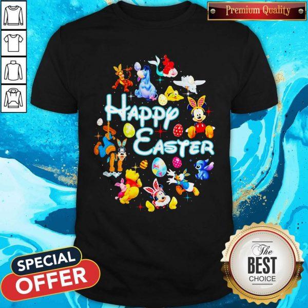 Disney Characters Happy Easter ShirtDisney Characters Happy Easter Shirt