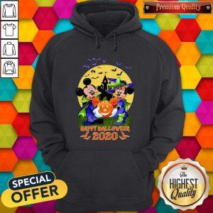 Disney Halloween Shirt Mickey And Minnie Happy Halloween 2020 Disney Hoodie