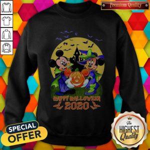 Disney Halloween Shirt Mickey And Minnie Happy Halloween 2020 Disney Sweatshirt
