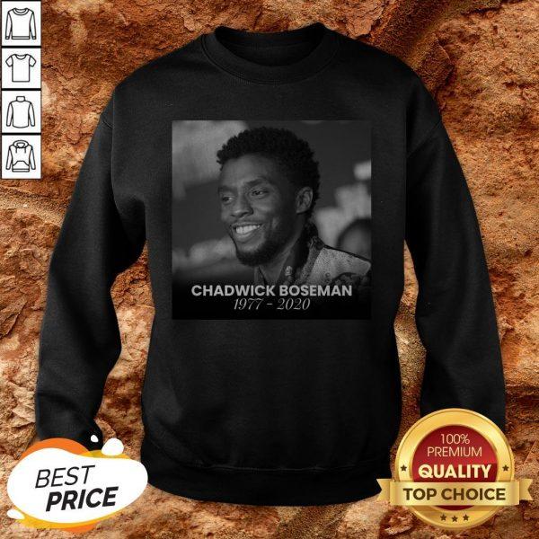 Formal RIP Black Panther's Chadwick Boseman Sweatshirt