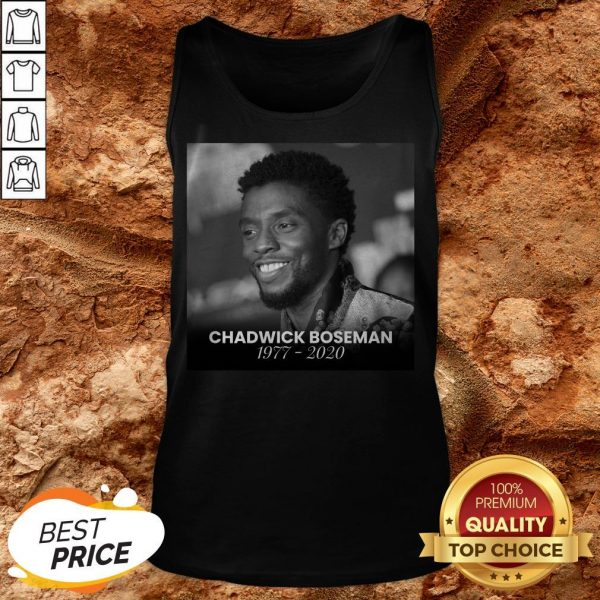 Formal RIP Black Panther's Chadwick Boseman Tank Top
