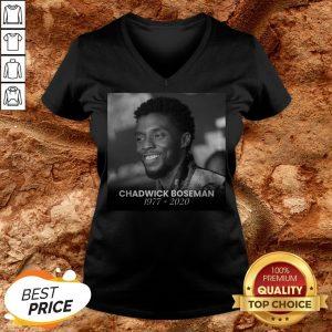Formal RIP Black Panther's Chadwick Boseman V-neck
