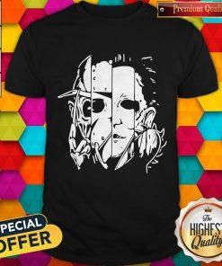 Freddy Jason Michael Thomas Shirt Horror Shirt Halloween Shirt