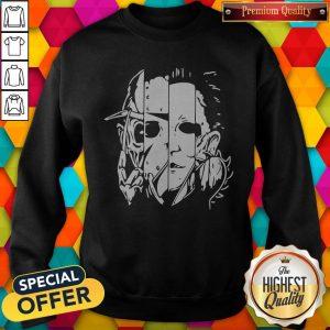 Freddy Jason Michael Thomas Shirt Horror Shirt Halloween Sweatshirt