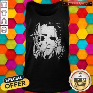 Freddy Jason Michael Thomas Shirt Horror Shirt Halloween Tank Top