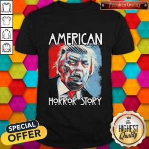 Funny Sarcastic Humor American Horror Story Halloween Zombie Trump 2020 Election Day Short-Sleeve Unisex T-ShirtFunny Sarcastic Humor American Horror Story Halloween Zombie Trump 2020 Election Day Short-Sleeve Unisex T-Shirt