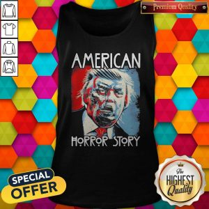 Funny Sarcastic Humor American Horror Story Halloween Zombie Trump 2020 Election Day Short-Sleeve Unisex Tank TopFunny Sarcastic Humor American Horror Story Halloween Zombie Trump 2020 Election Day Short-Sleeve Unisex Tank Top
