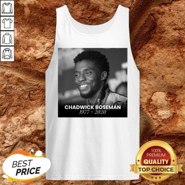 Good Rip Chadwick Boseman Tank Top