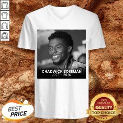 Good Rip Chadwick Boseman V-neck