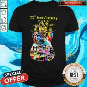 Guitar Pink Floyd 55th Anniversary 1965 Guitar Pink Floyd 55th Anniversary 1965 2020 Signatures Shirt2020 Signatures Shirt