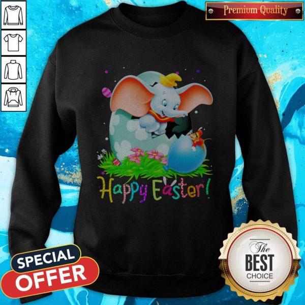 Happy Dumbo Easter Egg Happy Easter Sweatshirt