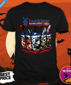 Happy Horror Character Dutch Bros CoffeeHappy Horror Character Dutch Bros Coffee Shirt Shirt