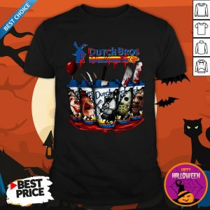 Happy Horror Character Dutch Bros CoffeeHappy Horror Character Dutch Bros Coffee Shirt Shirt
