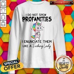 i-do-not-spew-profanities-i-enunciate-them-like-a-fucking-lady sweatshirt