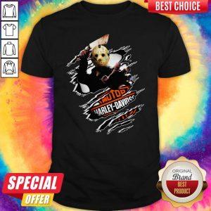 Jason Voorhees Motor Harley Davidson Blood Inside Me ShirtJason Voorhees Motor Harley Davidson Blood Inside Me Shirt